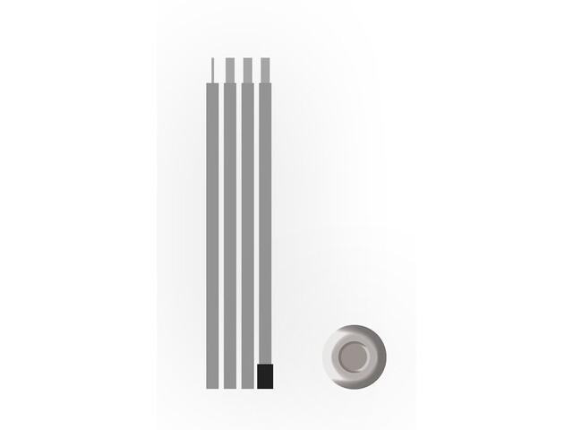 Bent Steel Stang 180x1,9cm